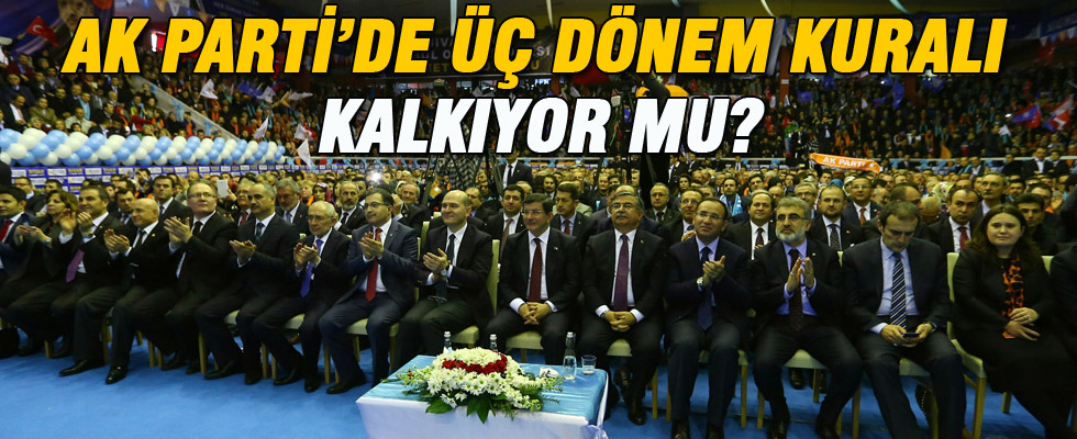 AK Parti'den '�� d�nem kural�' a��klamas�