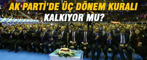 AK Parti'den 'üç dönem kuralı' açıklaması