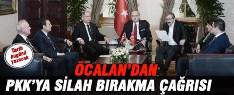 PKK'ya silah bırakın çağrısı