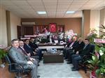 Chp'li Başkandan Ak Parti'ye Kutlama Ziyaret