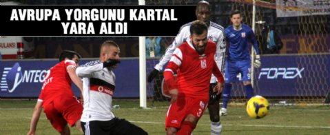 Beşiktaş  2 -  2 Balıkesirspor