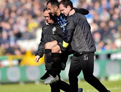 Club Brugge'da korkutan sakatlık
