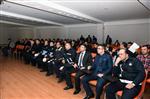İŞ GÜVENLİĞİ YASASI - Malatya Büyükşehir Personeline İş Sağlığı ve Güvenliği Eğitimi