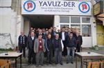 Ak Parti Milletvekili Aday Adayı Salih Cora, Yavuz-der'i Ziyaret Etti