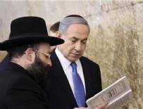AĞLAMA DUVARı - Netanyahu, Ağlama Duvarı'nı ziyaret etti