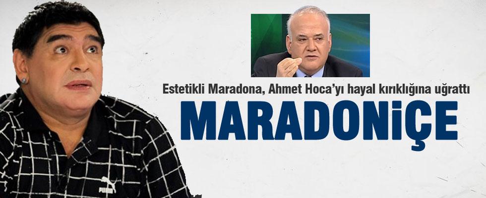 Çakar: Maradona, Maradoniçe oldu