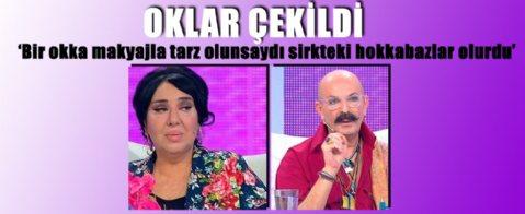 Cemil İpekçi'den Nur Yerlitaş'a : 'Bir okka makyajla...'