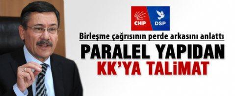 Melih Gökçek, CHP - DSP birleşmesinin perde arkasını anlattı
