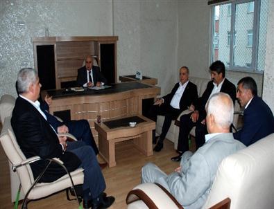 Dr. Nihat Özkan Ziyaretlerini Sürdürüyor