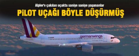 Uçak kazasında saniye saniye yaşananlar