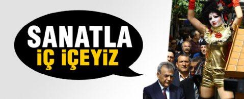 İzmir'de tiyatro yürüyüşü