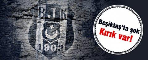 Beşiktaş'ta Pektemek Şoku