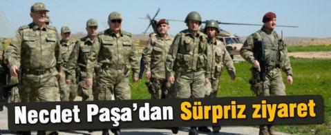 Genelkurmay Başkanı Özel ve Komutanlar Süleyman Şah Saygı Karakolu'nu Ziyaret Etti