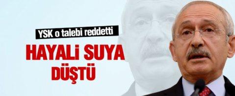 Kılıçdaroğlu İzmir'de YSK şoku yaşadı