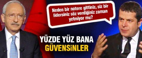 Kılıçdaroğlu'ndan bir garip açıklama