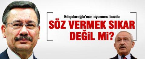 Kılıçdaroğlu'nun oyununu Gökçek bozdu