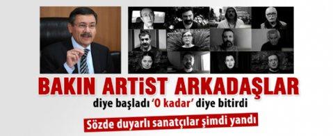 Melih Gökçek'ten Sanat Meclis'i üyelerine suç duyurusu