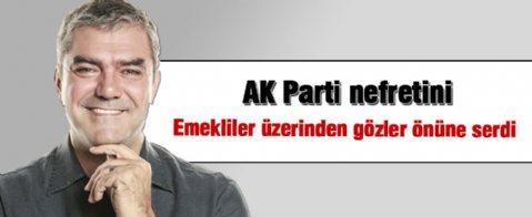Yılmaz Özdil'den emeklilere AK Parti üzerinden eleştiri