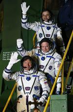 SOYUZ - Astronotların Uzaydaki Bir Yıllık Görevleri Başladı