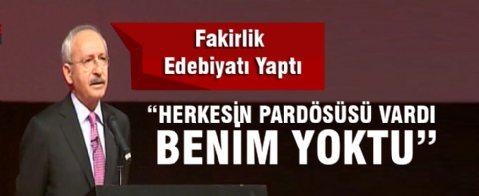 Kılıçdaroğlu: Pardösüm yoktu