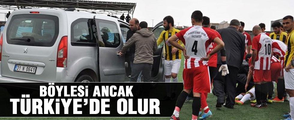 Ambulans Olmayınca Sahadan Özel Araçla Alındı