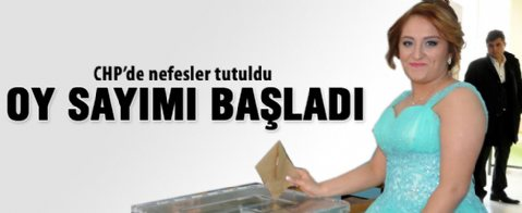 CHP'de oy kullanma işlemi sona erdi