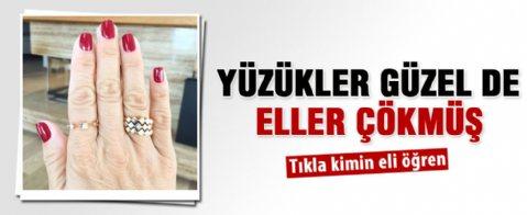 Pınar Altuğ'dan yaşlanmış el fotoğrafı