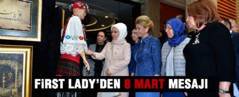 Ankara Büyükşehir Belediyesi'nden 'Dünya Kadınlar Günü' kutlaması