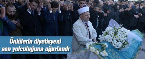 Diyetisyen Kahvecioğlu, Son Yolculuğuna Uğurlandı