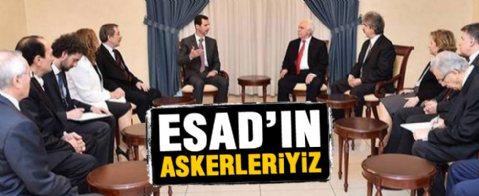 Doğu Perinçek Beşar Esad'la görüştü