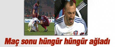 Karabüksporlu Ahmet İlhan'ın gözyaşları...