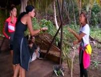 ALMEDA ABAZİ - Survivor'da temizlik tartışması sinirleri gerdi