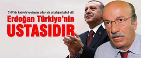 Mehmet Bekaroğlu: Erdoğan Türkiye'nin ustasıdır