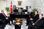 SEZGIN ÜÇÜNCÜ - Rektör Alkan'dan Başkan Karataş'a Ziyaret
