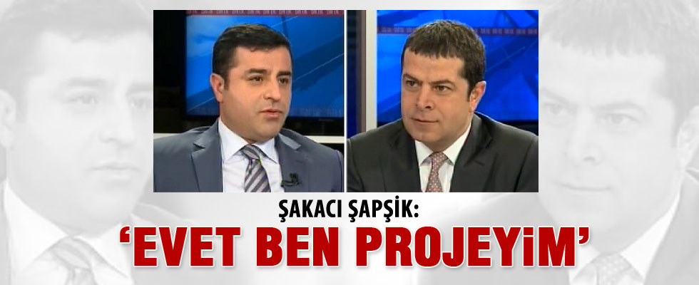 Demirtaş'tan Arınç'a proje cevabı