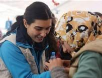 TUBA BÜYÜKÜSTÜN - Tuba Büyüküstün Suriyeli çocuklarla buluştu