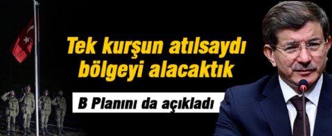 Ahmet Davutoğlu: Hedefimiz rejim olurdu