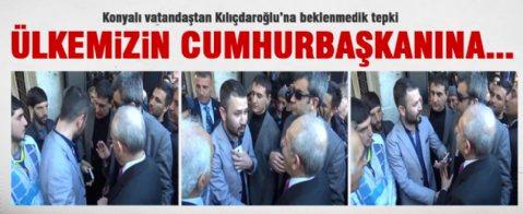 Genç vatandaştan Kılıçdaroğlu'na Erdoğan sorusu