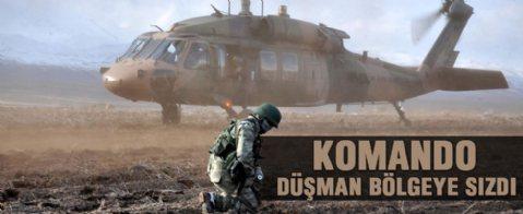 Komandoların Mızrak-2 Tatbikatı