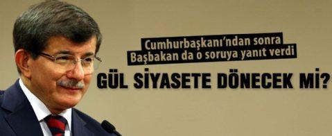Başbakan Davutoğlu'ndan Abdullah Gül açıklaması