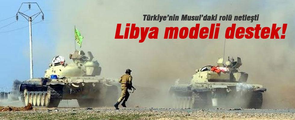 Musul'a Libya modeli destek