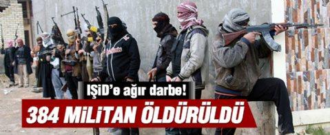 IŞİD 386 kayıp verdi