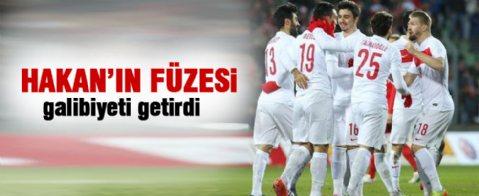 A Milli Takım, Çalhanoğlu ile güldü!
