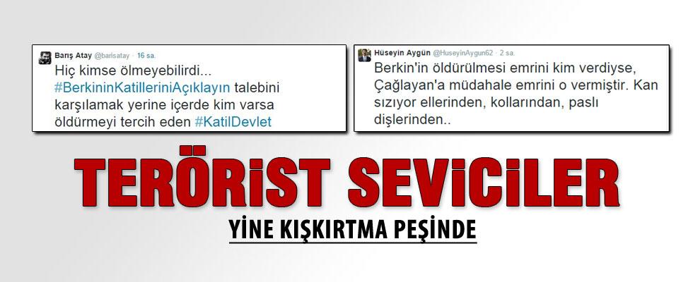 Barış Atay ve Hüseyin Aygün'den skandal tweetler
