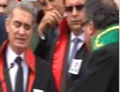 'Kınama' töreninde Hakim Savcı kavgası