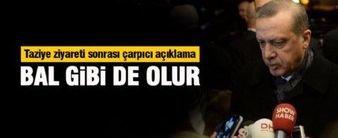 Erdoğan şehit savcının evinde