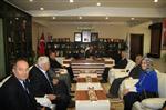 ALI İNCI - Ak Parti Adaylarından Başkan Dişli'ye Ziyaret