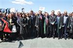 YARGıÇLAR VE SAVCıLAR BIRLIĞI - 'türkiye Adaletini Arıyor Yürüyüşü' İzmir'de Sona Erdi