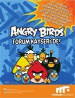 ANGRY BİRDS - Dünyanın En Popüler Kuşları Angry Brids Anadolu'da İlk Kez Forum Kayseri'de