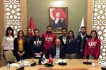 FETTAH TAMINCE - Uaü Mütevelli Heyeti Başkanı Tamince, Öğrencilerle Bir Araya Geldi
